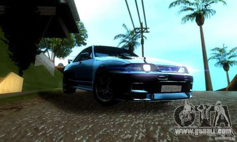 Nissan Skyline GT-R R-33 v2.0 for GTA San Andreas right view