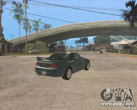 Nissan Skyline GT-R BNR33 for GTA San Andreas right view
