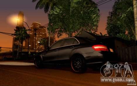 Mercedes Benz E63 DUB for GTA San Andreas