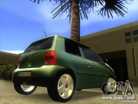 Volkswagen Lupo for GTA San Andreas back view