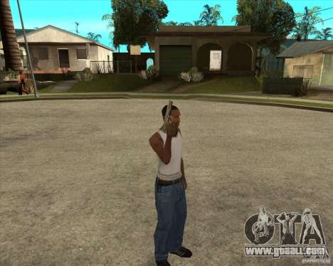 Weapons of call of duty for GTA San Andreas third screenshot