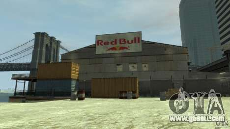 Red Bull Factory for GTA 4