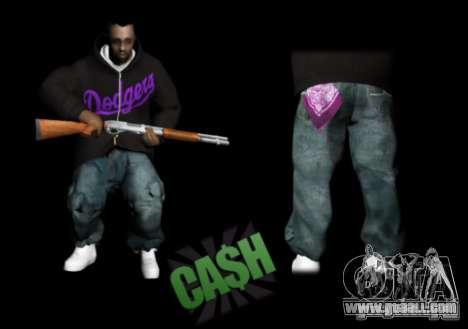 Pack Ballas Soldiaz Families V.2 for GTA San Andreas third screenshot