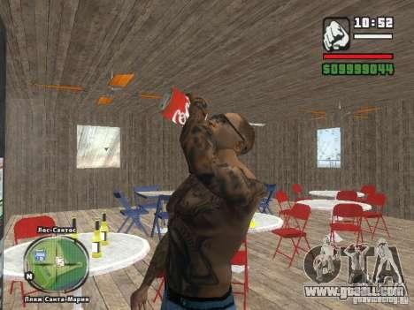 New Beach bar Verona for GTA San Andreas sixth screenshot