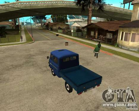 UAZ 39094 for GTA San Andreas left view