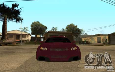 Audi A3 Tuned for GTA San Andreas right view