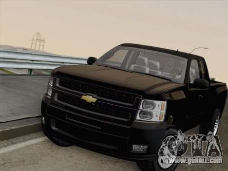 Chevrolet Silverado 2500HD 2013 for GTA San Andreas