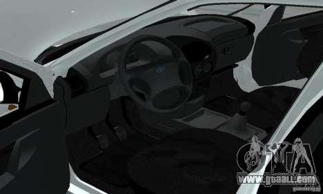Lada Kalina Hatchback Stock for GTA San Andreas back view