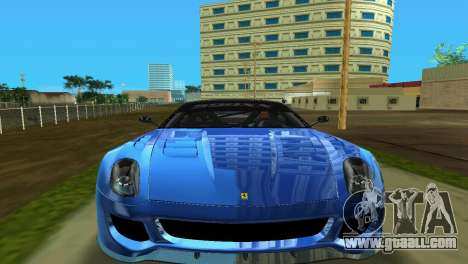 Ferrari 599XX for GTA Vice City left view
