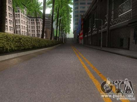Modification Of The Road for GTA San Andreas forth screenshot