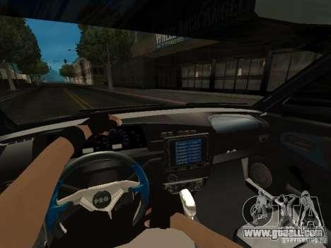 VAZ 21099 Turbo for GTA San Andreas right view