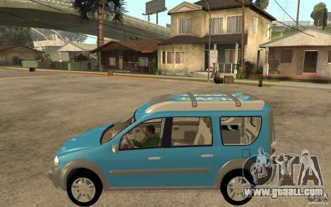 Dacia Logan Steppe Concept for GTA San Andreas