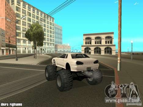 Elegy Monster for GTA San Andreas right view