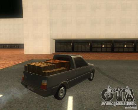 SEAZ Oka Pickup for GTA San Andreas back left view