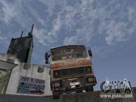 5551 MAZ Kolkhoz for GTA San Andreas back view