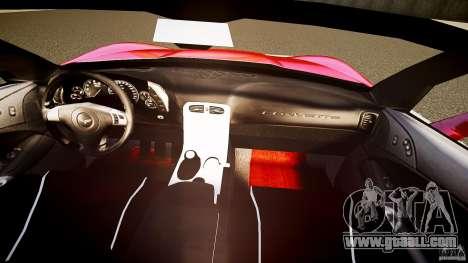 Chevrolet Corvette Z06 1.2 for GTA 4 bottom view