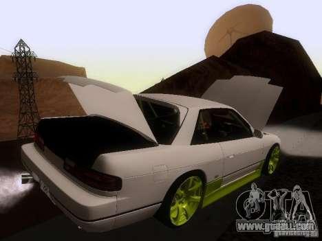 Nissan Silvia S13 Drift Style for GTA San Andreas wheels