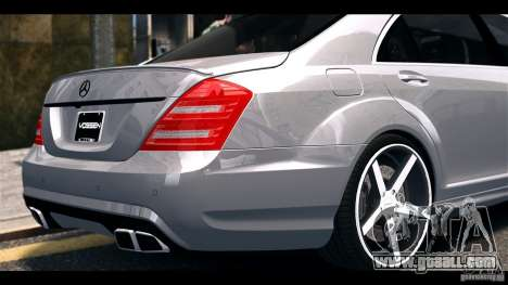 Mercedes-Benz S65 W221 AMG Vossen for GTA 4 right view