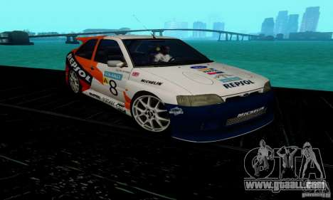 Ford Escort RS Cosworth for GTA San Andreas back view