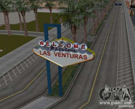 Real New Vegas v1 for GTA San Andreas