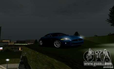 Jaguar XKRS for GTA San Andreas back left view