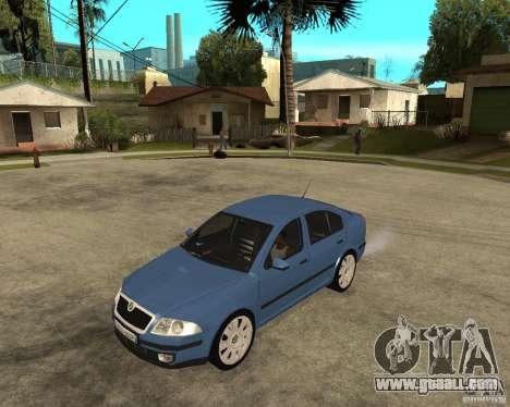 Skoda Octavia II. 2005 for GTA San Andreas