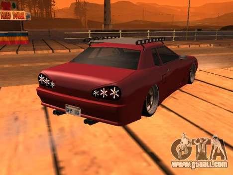 JDM Elegy for GTA San Andreas left view