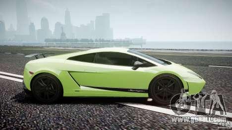 Lamborghini Gallardo LP570-4 Superleggera 2010 for GTA 4 inner view