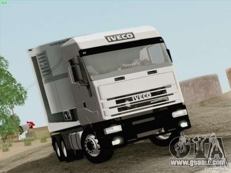 Iveco Eurostar for GTA San Andreas left view