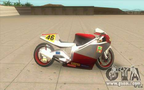 NRG-500 tuning for GTA San Andreas left view
