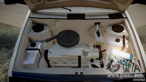 VAZ 21099 Light Tuning for GTA 4 back view