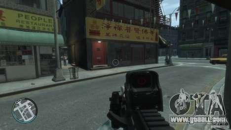 AUG-A3 for GTA 4 third screenshot