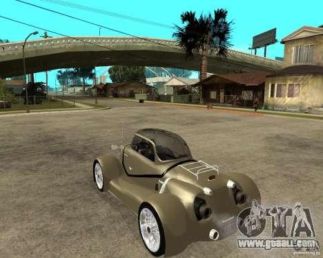 Messerschmitt GT500 Tiger Hard tuned for GTA San Andreas left view
