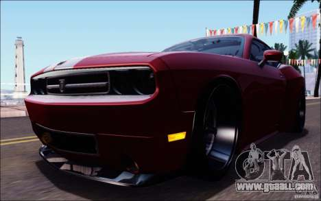 Dodge Challenger Rampage Customs for GTA San Andreas interior