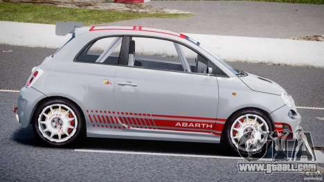 Fiat 500 Abarth for GTA 4 left view