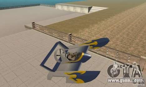Hydrofoam for GTA San Andreas inner view