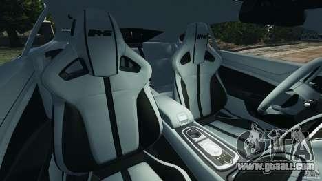 Jaguar XKR-S Trinity Edition 2012 v1.1 for GTA 4 inner view