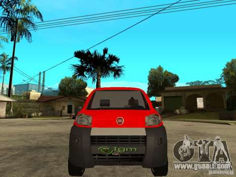 Fiat Fiorino Combi for GTA San Andreas right view