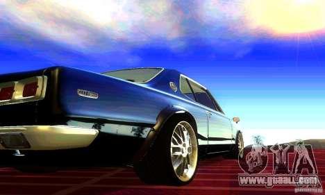 Nissan Skyline 2000-GTR for GTA San Andreas left view