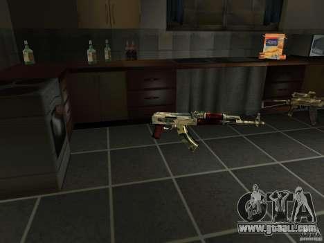 Pak domestic weapons version 4 for GTA San Andreas fifth screenshot
