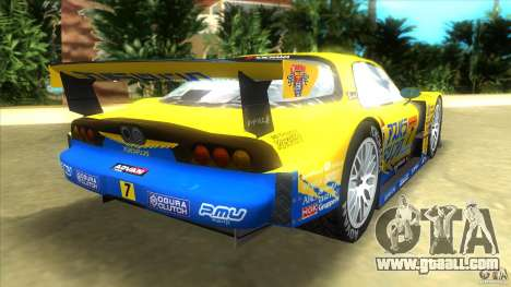 Mazda Re-Amemiya RX7 FD3S Super GT for GTA Vice City back left view