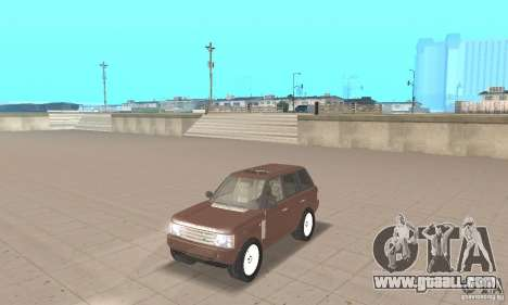 Range Rover Vogue 2004 for GTA San Andreas