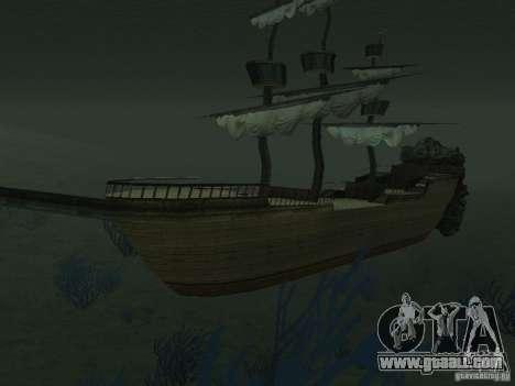 Pirate ship for GTA San Andreas seventh screenshot