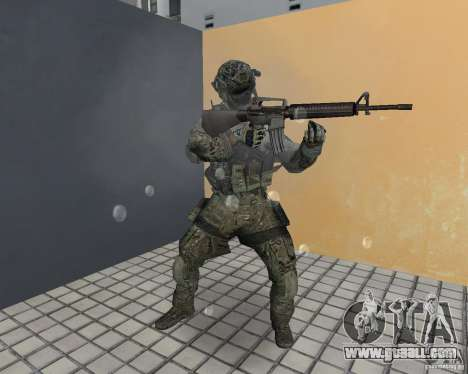 Frost from CoD MW3 for GTA Vice City fifth screenshot