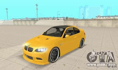 BMW M3 2008 Hamann v1.2 for GTA San Andreas