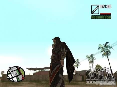 Sword Ezio for GTA San Andreas second screenshot