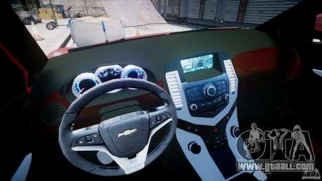 Chevrolet Cruze for GTA 4 back view