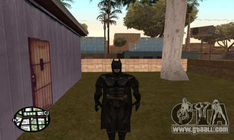 Dark Knight Skin Pack for GTA San Andreas fifth screenshot