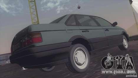Volkswagen Passat B3 v2 for GTA San Andreas right view
