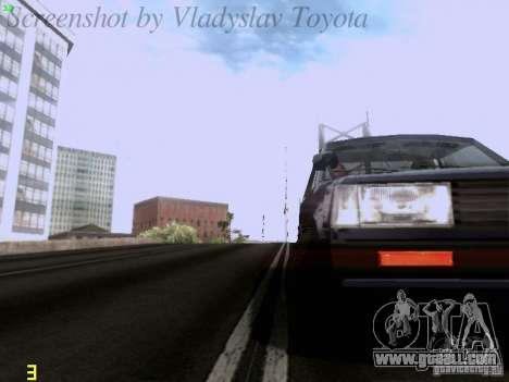 Toyota Corolla TE71 Coupe for GTA San Andreas side view